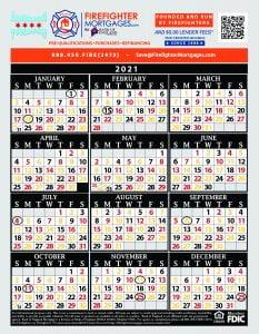 Firefighter Shift Calendars   Firefighter Mortgages®